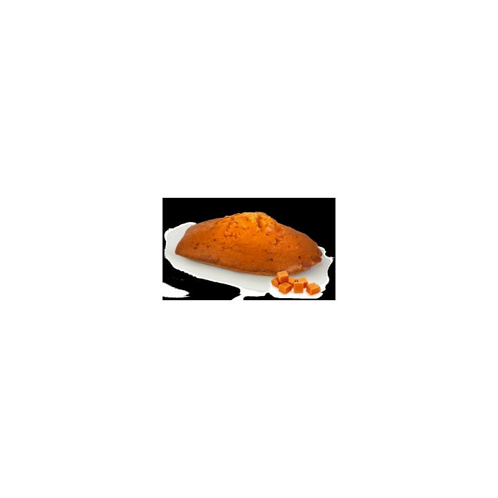 Madeleine géante caramel
