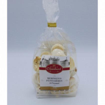 Meringues pâtissières caramel