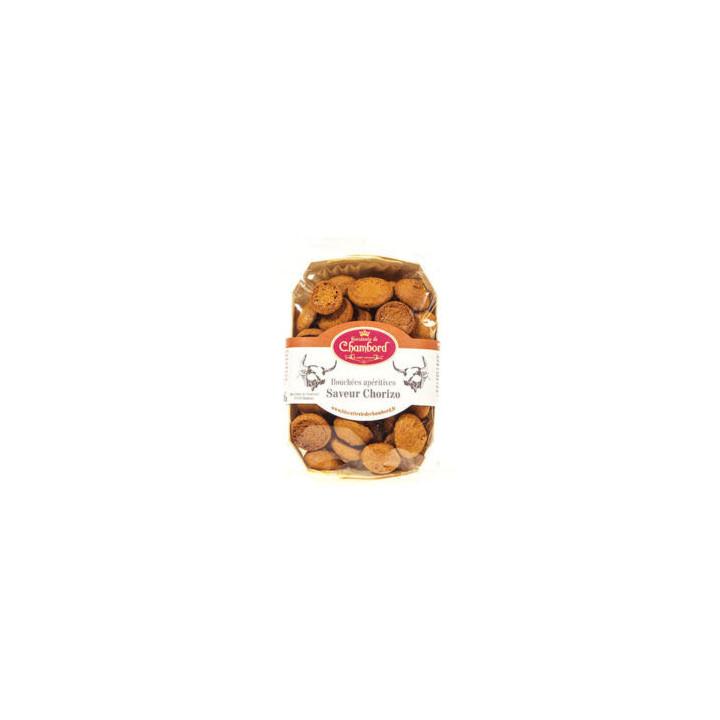 Biscuits apéritif au chorizo