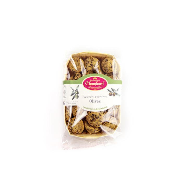 Biscuits apéritif aux olives