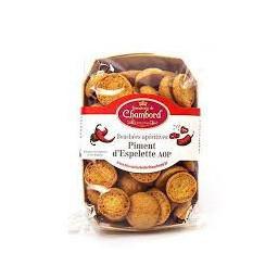 Biscuits apéritif au piment d'Espelette AOP