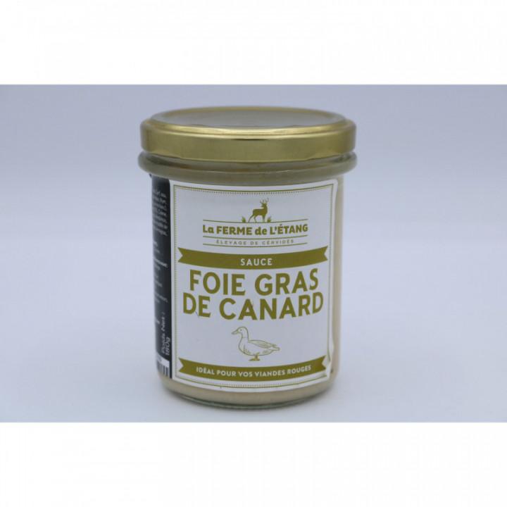 Sauce au Foie Gras de Canard  180gr