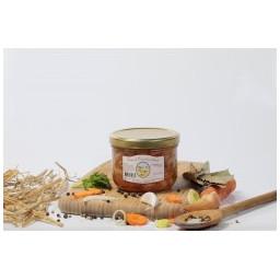 Saucisses canard haricots, 375g