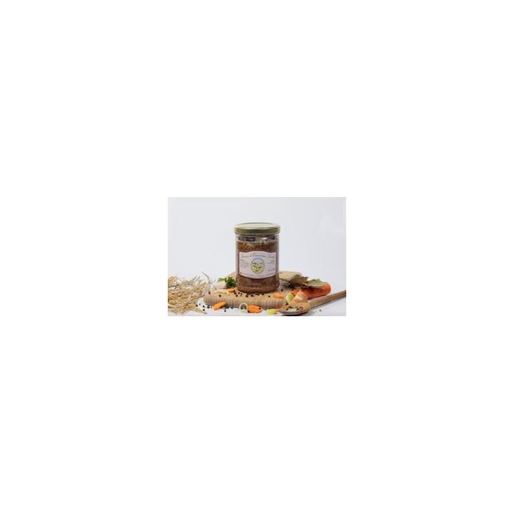 Saucisses de canards et lentilles, 750g