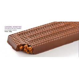 Tablette caramel noisettes