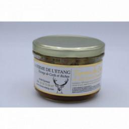 Terrine de cerf au foie gras de canard 200gr