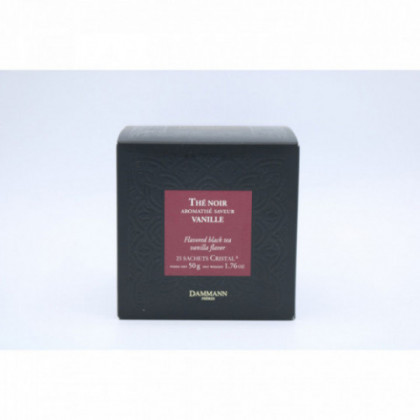 "Thé noir ""Vanille"", 25 sachets"