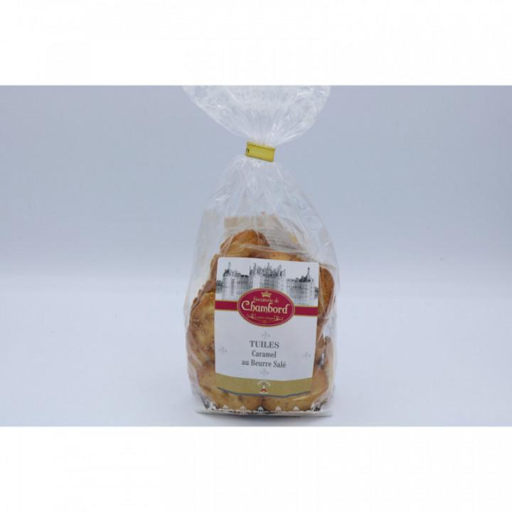 Tuiles caramel au beurre salé, 140g