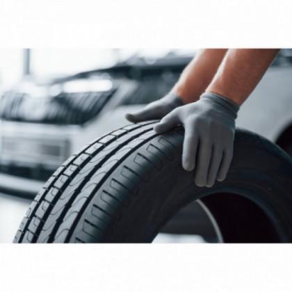 Changement de pneus