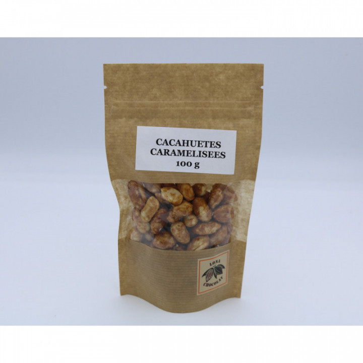 Cacahuètes caramelisées