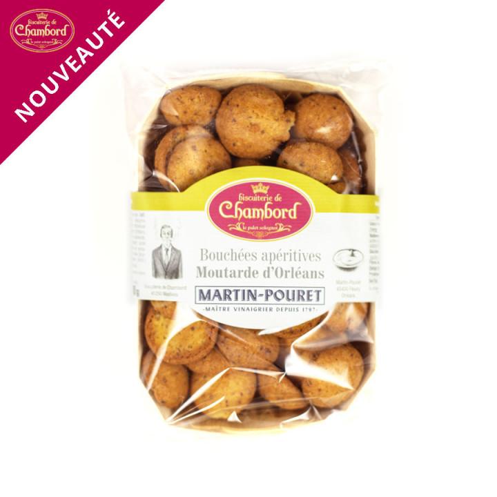 Biscuits apéritif à la moutarde d'Orléans