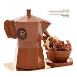 Cafetière garnie (lait)