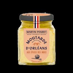 Moutarde d'Orléans aux épices des Indes 200gr