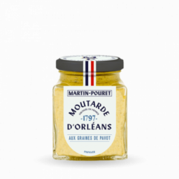 Moutarde d'Orléans aux graines de pavot 200gr