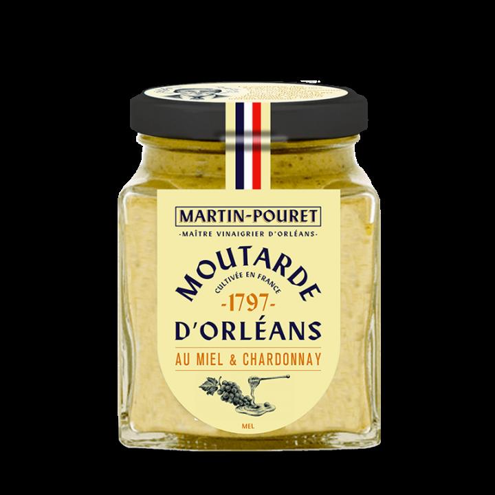 Moutarde d'Orléans miel & chardonnay 200gr