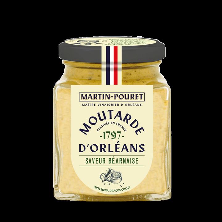 Moutarde d'Orléans saveur béarnaise 200gr