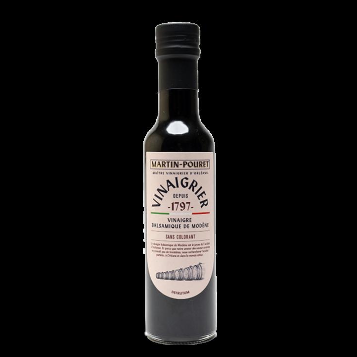 Vinaigre Balsamique de Modène IGP - sans colorant 25cl