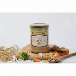 Canard aux girolles sauce foie gras, 600g