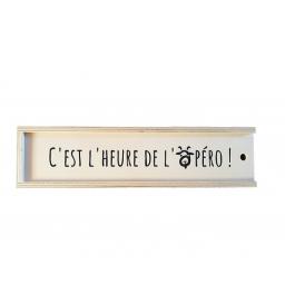 Coffret Bois So Chèvre Apéro